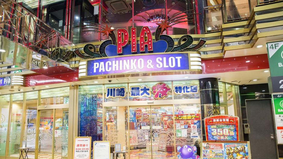 Japonska: Igralni avtomat pachinko (foto: Profimedia)