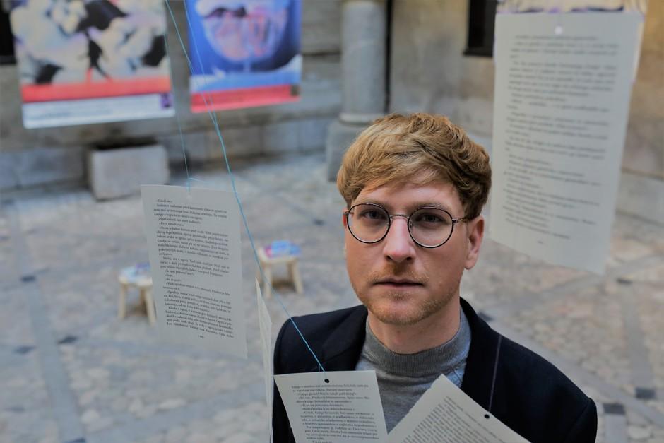 """Aljaž Koprivnikar: """"Rad bivam z veliko mero ustvarjalne svobode!"""" (foto: Jaka Gasar)"""