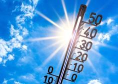 V 30 letih se je temperatura zraka v državi povzpela za okoli 1,7 stopinje Celzija