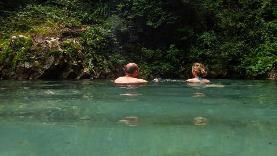 V Sloveniji se je uradno začela kopalna sezona (foto: Nebojša Tejić/STA)