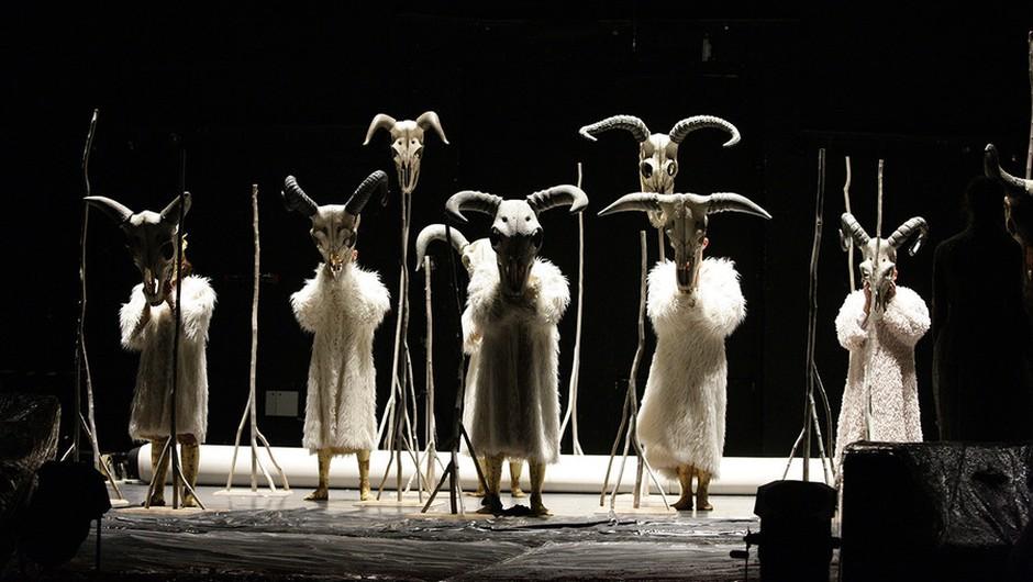 Medeja odpira Mednarodni gledališki festival REGIJE (foto: Damjan Švarc)