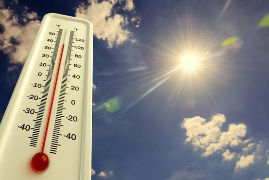 Arso: Pred nami je prvi vročinski val, ki bo trajal predvidoma do ponedeljka