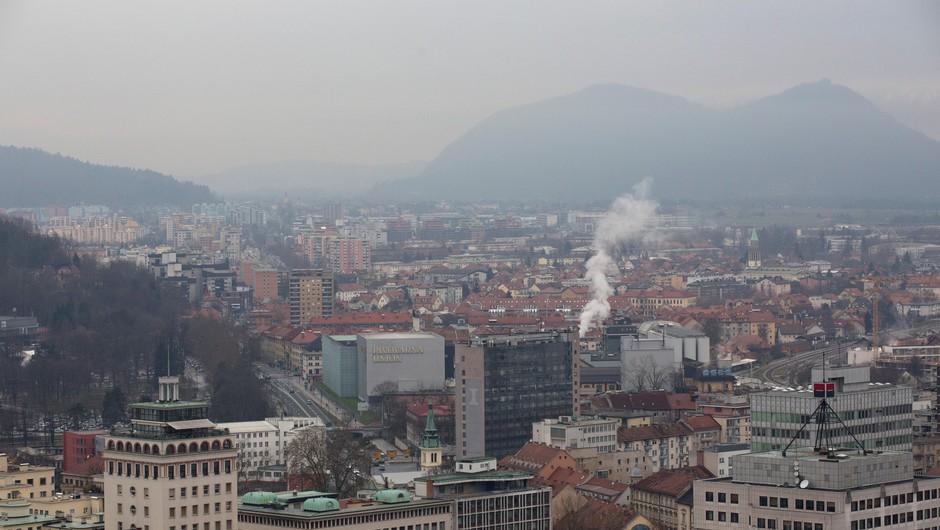 Maribor z zmerno, Ljubljana z visoko onesnaženostjo zraka (foto: Profimedia)