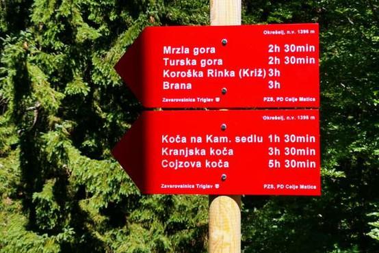 Naj planinska pot 2021 je pot s Kranjske koče na Ledinah na Koroško Rinko