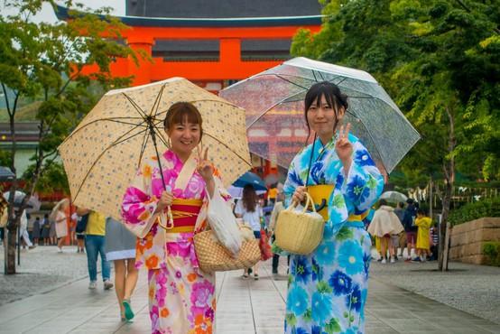 Kimono je ena najbolj znanih japonskih besed
