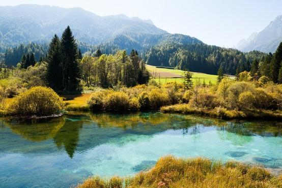 Z 28.000 kilometri vodotokov spada Slovenija med vodnate evropske države