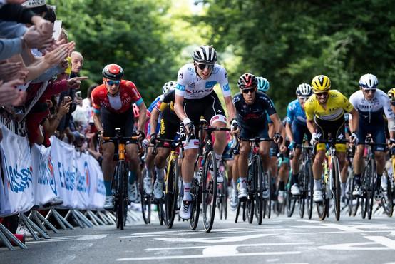V 2. etapi dirke po Franciji prvi van der Poel , Pogačar in Roglič tik za njim