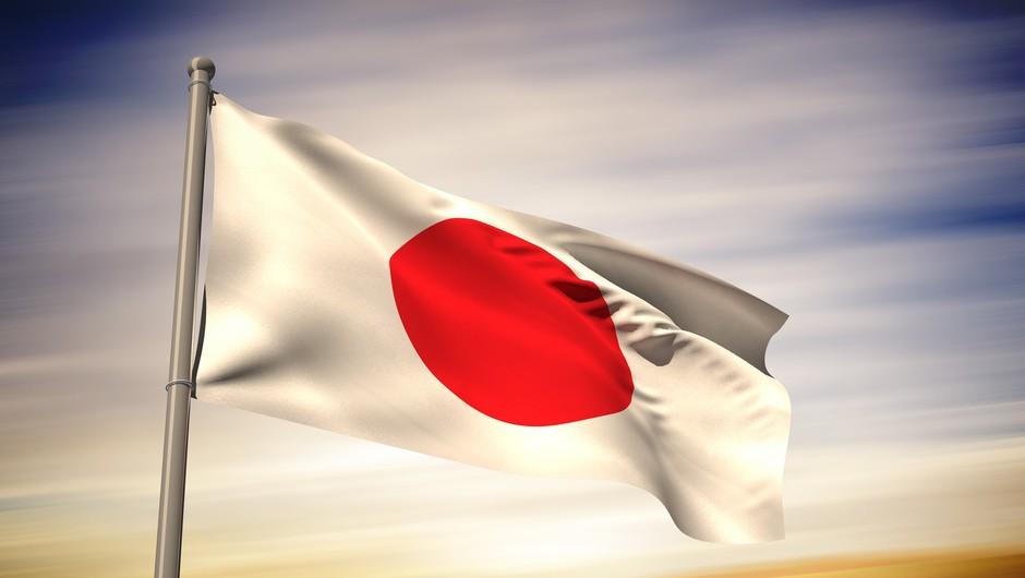 Japonska zastava velja za eno najbolj prepoznavnih na svetu (foto: Profimedia)