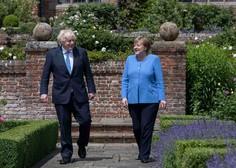 Angela Merkel britanskemu premierju napovedala lažje pogoje za vstop Britancev v Nemčijo