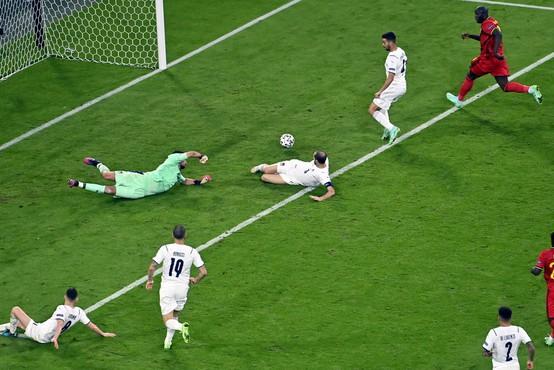 Po Španiji do polfinala še Italija, ki je izločila Belgijo
