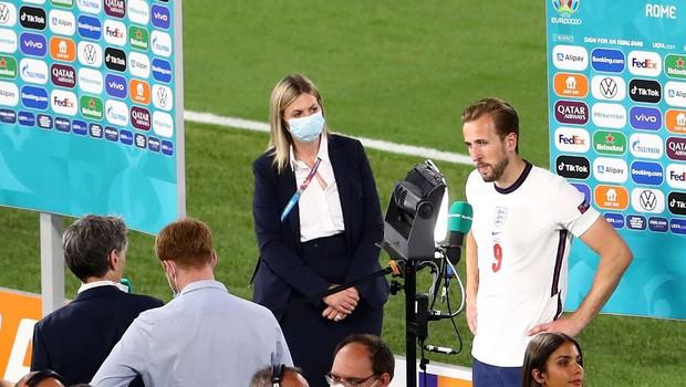 Med najboljše štiri kot zadnja še Anglija, ki je s 4:0 izločila Ukrajino (foto: profimedia)