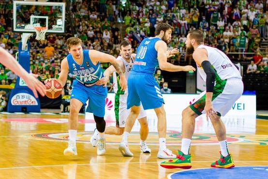 Slovenski košarkarji premagali še Litvo in se prvič uvrstili na olimpijske igre