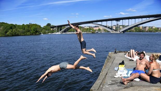 V skandinavskih državah vročinski val (foto: Profimedia)