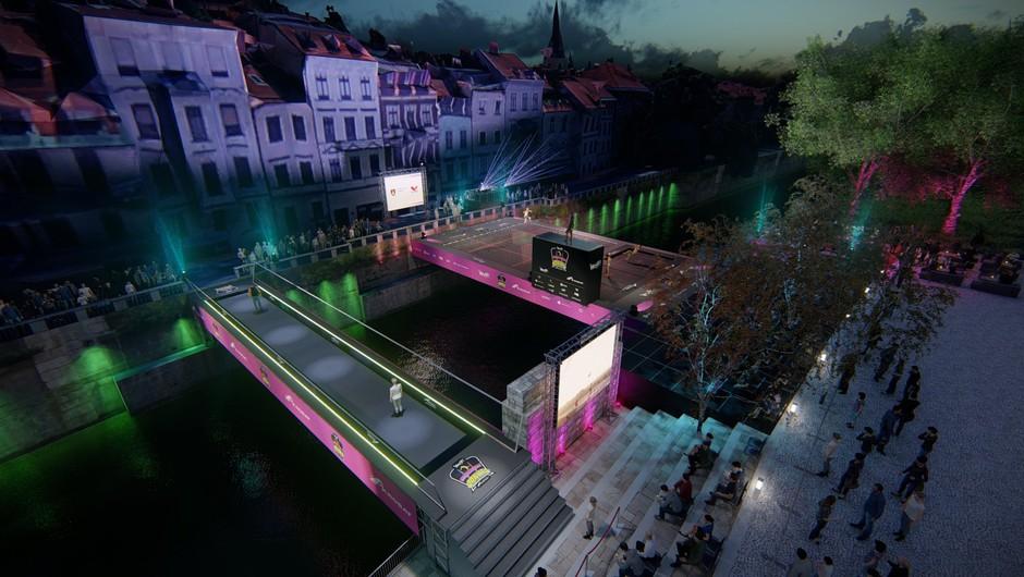 WOOP! Odbito na Ljubljanici (z agencijo Extrem & Dunking Devils) (foto: Dunking Devils Press)