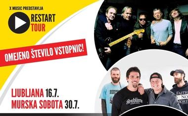 Restart Tour Slovenija z otvoritvenim koncertom zasedb Hladno Pivo, Pankrti in Elvis Jackson