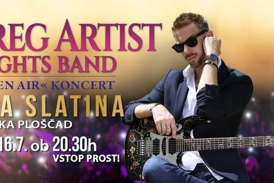 Koncert SoulGrega Artista & BigLights banda v Rogaški Slatini