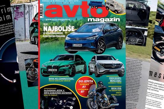 Izšel je novi Avto magazin: Kako na dopust s prikolico ... ali motorjem