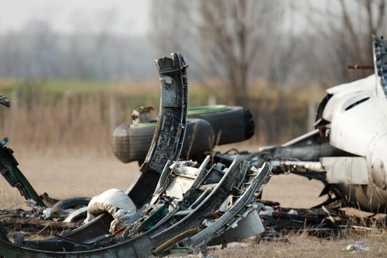 Na Švedskem po dveh letih še ena nesreča manjšega letala s padalci na krovu