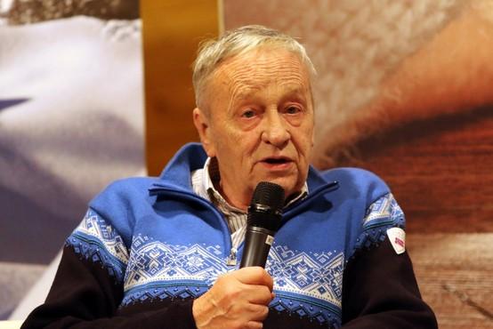 """Poslovil se je """"oče"""" Mednarodne smučarske zveze Gian Franco Kasper"""