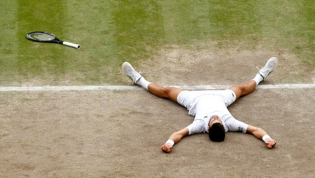 Đokoviću šesti Wimbledon in 20. grand slam v karieri (foto: profimedia)