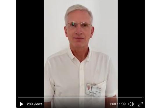 Dr. Tadej Battelino: »Dragi ljudje, prosimo, pomagajte nam preprečiti jesenski val covida-19!«