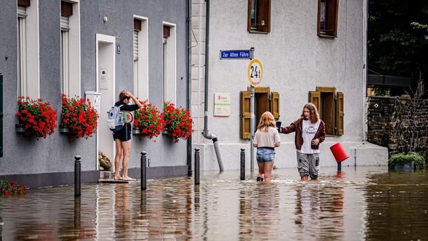 Poplave v Nemčiji in Belgiji vzele več kot 100 življenj, veliko je pogrešanih (foto: profimedia)