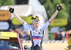 Mohorič s samostojnim pobegom do druge etapne zmage na letošnjem Touru