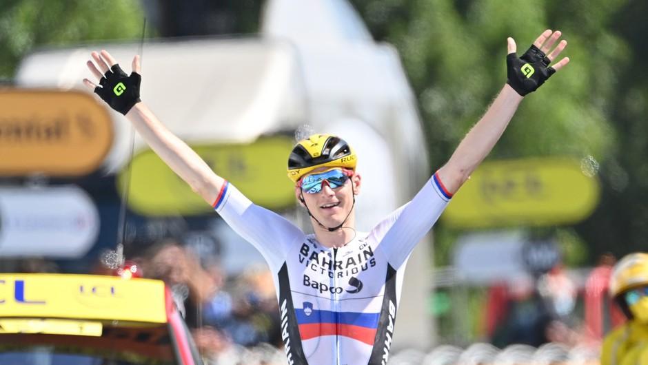 Mohorič s samostojnim pobegom do druge etapne zmage na letošnjem Touru (foto: profimedia)