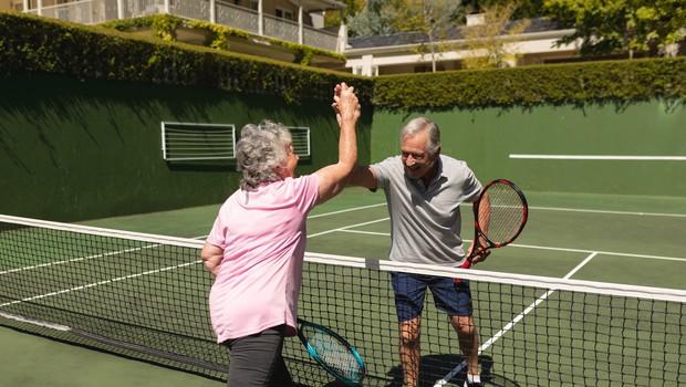 Leonid Stanislavski je pri 97 letih najstarejši amaterski teniški igralec na svetu (foto: profimedia)