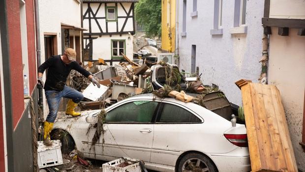 Katastrofalne posledice poplav na severu Evrope terjale najmanj 153 življenj, veliko pogrešanih (foto: profimedia)