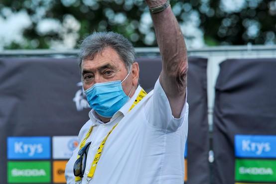 Sloviti kolesar Eddy Merckx v Tadeju Pogačarju vidi svojega naslednika