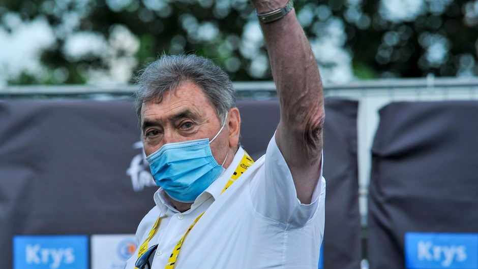 Sloviti kolesar Eddy Merckx v Tadeju Pogačarju vidi svojega naslednika (foto: profimedia)