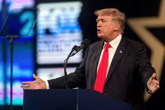 S preklicem je šel v pozabo še eden od mnogih Trumpovih nesmislov