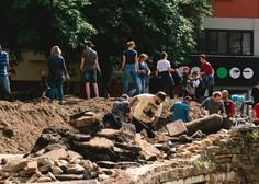 Število žrtev poplav na severu Evrope se je povzpelo na 183