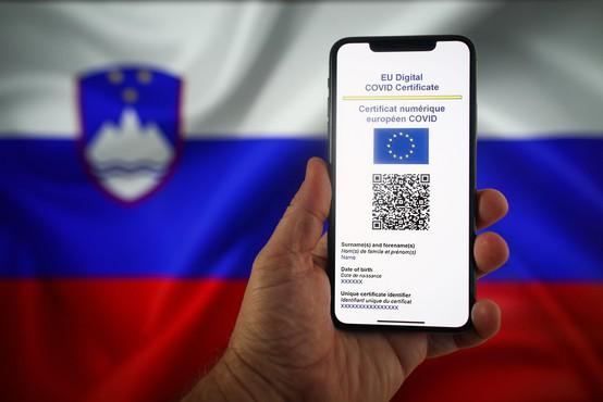 Dostop do digitalnega covidnega potrdila tudi prek mobilne aplikacije