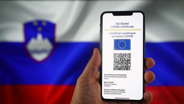 Dostop do digitalnega covidnega potrdila tudi prek mobilne aplikacije (foto: Profimedia)