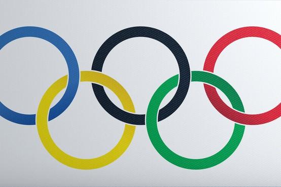 Olimpijski utrip popestril središče Ljubljane