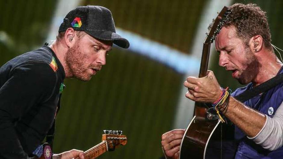 Skupina Coldplay oktobra z novim albumom Music of the Spheres (foto: Xinhua/STA)
