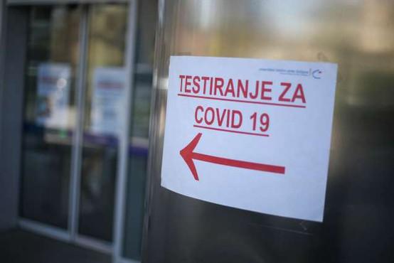 V nedeljo potrdili 22 okužb z novim koronavirusom