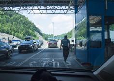 Zaradi povečanega prometa med Avstrijo in Hrvaško kolone na mejnih prehodih