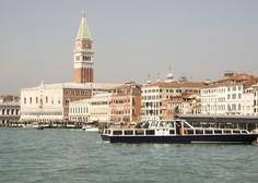 Antična rimska cesta pod morsko gladino na območju Benetk