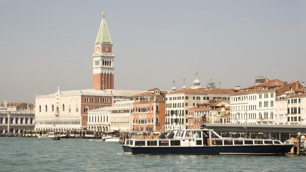 Antična rimska cesta pod morsko gladino na območju Benetk (foto: profimedia)