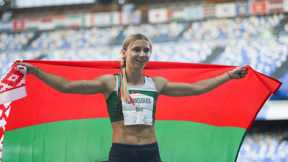 Kdo je beloruska atletinja Kristina Timanovska, ki se ne želi vrniti v Belorusijo (foto: Profimedia)