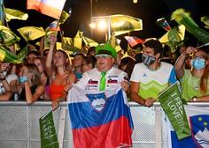V Ljubljani pozdravili olimpijce; Janja Garnbret župana Jankovića pozvala, naj ne pozabi na njun dogovor