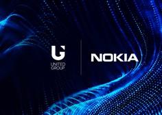 United Group z Nokio v partnerstvo za nadgradnjo jedrnega mobilnega omrežja