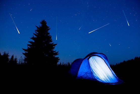 V noči na petek vrhunec utrinkov meteorskega roja Perzeidov