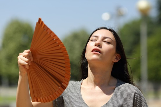 Konec tedna visoka toplotna obremenitev, v ponedeljek delna ohladitev
