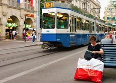 Okolju prijazna ideja: Potniki na dunajskem tramvaju bi lahko spotoma dostavljali pakete