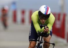 Primož Roglič je dirko po Španiji začel z zmago v vožnji na čas