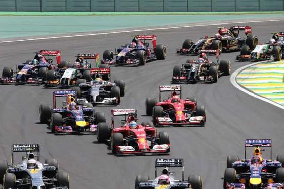 Dirka F1 v Sao Paulu brez koronskih omejitev